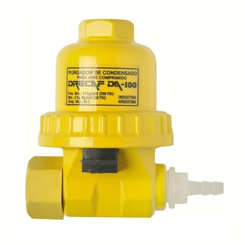 Purgador Automático de Ar Orleans - Purgador Eletrônico para Ar Comprimido
