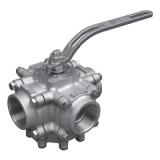 válvula esfera tripartida inox preços de Fraiburgo