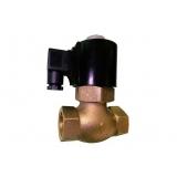 válvula solenoide vapor preço Brusque